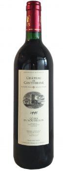 Rouge cote roussillon 1995 - Chateau CANTERANNE